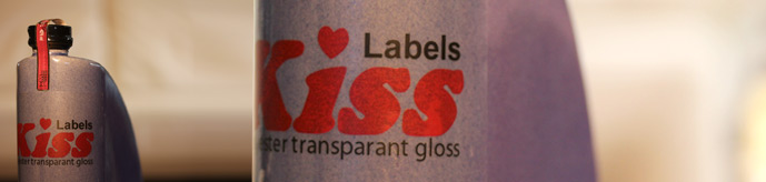 Laser Polyester transparant gloss