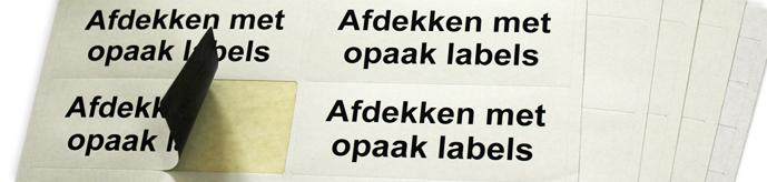 Opaak Labels
