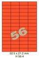Standaard Oranje H 56-4 - 52.5x21.2mm
