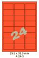 Standaard Oranje A 24-3 - 63.5x33.9mm