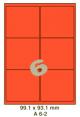 Standaard Oranje A 6-2 - 99.1x93.1mm