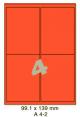 Standaard Oranje A 4-2 - 98x140mm