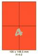 Standaard Oranje H 4-2 - 105x148.5mm