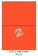 Standaard Oranje H 2-1 - 210x148.5mm