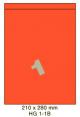 Standaard Oranje HG 1-1B - 210x280mm