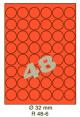 Standaard Oranje R 48-6 Dia 32mm