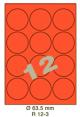 Standaard Oranje R 12-3 Dia 63.5mm
