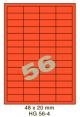 Standaard Oranje HG 56-4 - 48x20mm